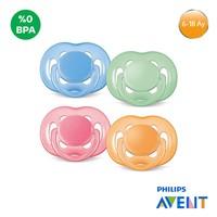 Philips Avent SCF178/14 0% BPA Free Flow Yalancı emzik 6-18 ay - Renkli TEKLİ