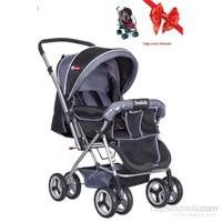 Holmen Çift Yönlü Bebek Arabası Siyah