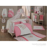 Kidboo Sweet Home Pink 70*130 Cm Bebek Uyku Seti