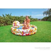 İntex Yıldız Desenli Havuz Set