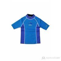Konfidence Neoprene Tshirt Mavi / 4-5 Yaş
