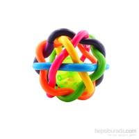 Bondigo Çıngıraklı Renkli Topum