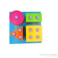 Bondigo Renkli Şekiller Puzzle