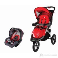 Baby2go Joger Rally Travel Sistem Bebek Arabası Kırmızı