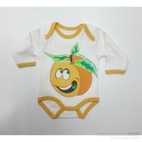 Baby By Bumbo Baskılı Badi Portakal