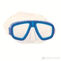 Bestway Çift Camlı Silikonlu Dalış Maskesi - 22011 (Lacivert)