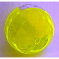 Kristal Yüzey Sarı Zıplayan Top