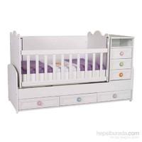 Baby Hope 930 Büyüyen Beşik Beyaz 70X180 Cm