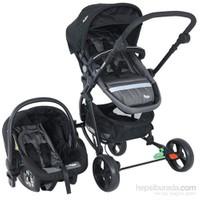 Baby Hope Storm Travel Bebek Arabası Siyah Gri