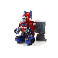 Vardem Kutulu Dönüşebilen Mini Robot Kamyon Kırmızı
