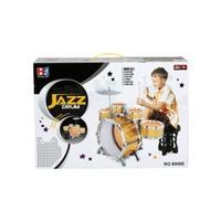 Sunman Jazz Drum Çocuk Bateri Seti Büyük Boy Tabureli