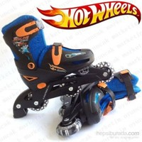 Vardem Hot Wheels Ayarlanabilir Çocuk Pateni 33 - 36 Numara