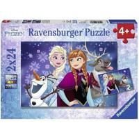 Ravensburger Frozen 2 X 24 Parça Çocuk Puzzle