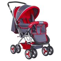 Bordo Lüks 770-Gk Çift Yönlü Bebek Arabası / Kırmızı