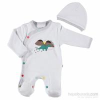 For My Baby Uraz Patikli Tulum-Şapka