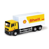 Rmz City Die Cast 1:64 Man Tgs Shell Tanker 14023