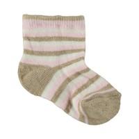 Artı Puanlı Çizgili Çorap 1-6 Yaş