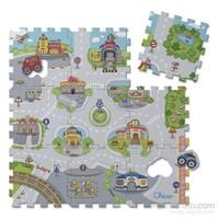 Chicco Puzzle Şehir Minderi 9 Parça