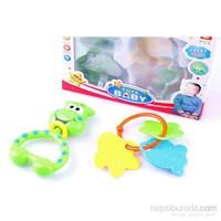 Nani Toys Mirth Angel Toy Baby 2'li Çıngırak Seti