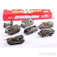 Nani Toys 7'li Asker Araçları Diecast Seti