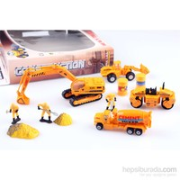 Nani Toys İnşaat Diecast İş Araçları Seti