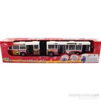 Hat 742 Kırmızı Körüklü Otobüs