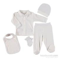 Hello Baby&Kids Puantiyeli Papyonlu 5'Li Hastane Çı