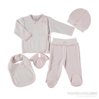 Hello Baby&Kids Puantiyeli 5'Li Hastane Çıkışı