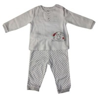İdil Baby Erkek 2'Li Takım 5685 Beyaz
