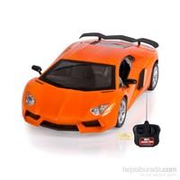 Can-Em Speed Car Uzaktan Kumandalı Şarjlı Spor Turuncu Araba