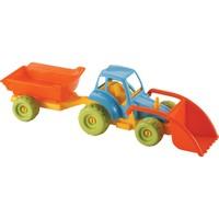 Dede Cargo Küçük Romörklü Kepçeli Traktör