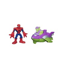 Playskool Spiderman Araç Ve Figür Jumper