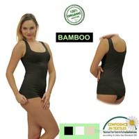 Emzik Form Bambu Kalın Askılı Atlet
