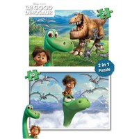 Ks Games THE GOOD DINOSAUR YAPBOZ 2 IN 1 (35+60 PRÇ)