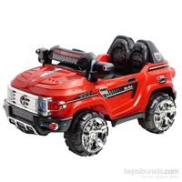 Baby2go Akülü Uzaktan Kumandalı Mercedes Jeep - Kırmızı 9357