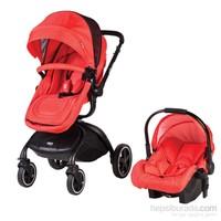 Sunny Baby 758 Millenium Travel Bebek Arabası - Kırmızı