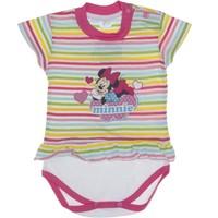 Mini Damla Minnie Mouse Çıtçıtlı Badi 3-9 Ay