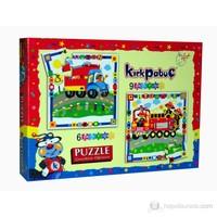 Kırkpabuc Taşıtlar 1 (6 ve 9 Parçalık Karton Puzzle)