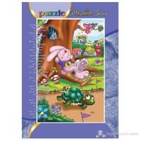 Kırkpabuc Tavşan İle Kaplumbağa (15 Parçalık Frame Puzzle)