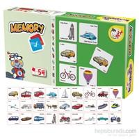 Kırkpabuc Taşıtlar (Hafıza Oyunu Karton Puzzle)
