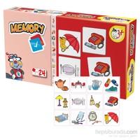 Kırkpabuc Eşyalar (Hafıza Oyunu Karton Puzzle)