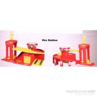 Nani Toys Fire Station Diecast Garaj Kit Seti