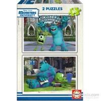 Educa Monsters Unıversıty - 2X20 Parça Puzzle