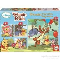 Wınnıe The Pooh Progressıve - 6-9-12-16 Parça Puzzle
