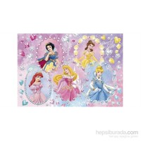 Clementoni Diamond Princess Taş Yapıştırma 104 Parça Puzzle