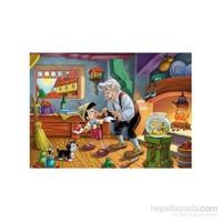 Clementoni Maxi Büyük Boy Pinocchio: Ready To School 24 Parça Puzzle