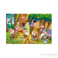 Clementoni Maxi Büyük Boy Snow White Good Morning 104 Parça Puzzle