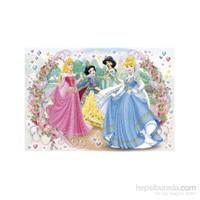 Clementoni Princess Taş Yapıştırma 104 Parça Puzzle
