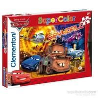 Clementoni Çocuk Cars Spyworld - 104 Parça Puzzle