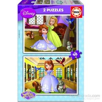 Educa Çocuk Sofia - 2X48 Parça Puzzle